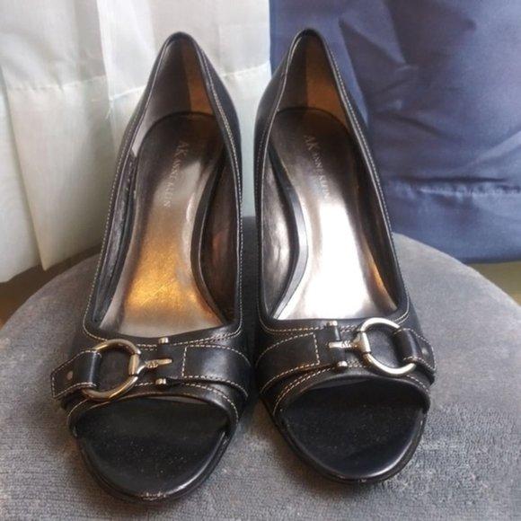 Anne Klein Shoes   Peep Toe Heels